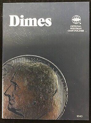 DIMES WHITMAN COIN FOLDER # 9043 U.S