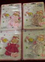 Baby born mini world Zapf creations lot of 4 clothes accessories doll