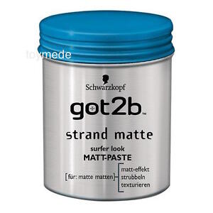 Schwarzkopf-got2b-STRANDMATTE-Matt-Paste-Beach-Matte-100-ml-Surfer-Look-for-men