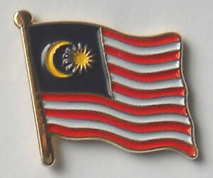 Image Is Loading Malaysia Country Flag Enamel Pin Badge