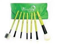London Pride 7pcs Green Set Brush - Make-up brushes+Silicone Make-up Puff Clear