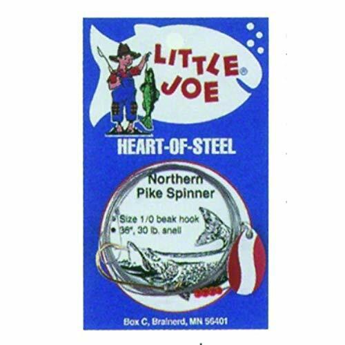 Lindy Little Joe Heart-of-Steel Spinners Nickel