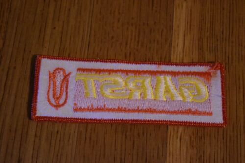 Garst Seed Company Vintage Sew-On Patch Farming Ag Corn