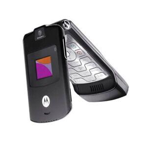 Motorola Razr V3i Black Unlocked Refurbished Mobile Phone Uk Stock Ebay