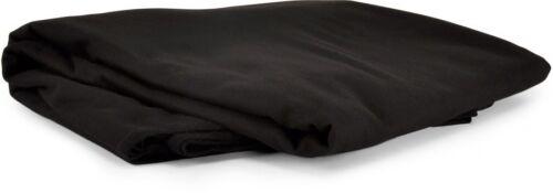 Premium bühnenmolton b1 env. 300 Gr par mètres carrés, 300 cm de large noir