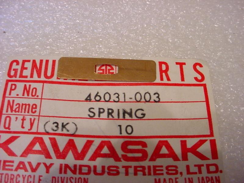 3pcs H1 H2 S2 F5 F6 F7 F8 F9 F11 Kawasaki 46031-003 SWITCH SPRING//contact SET