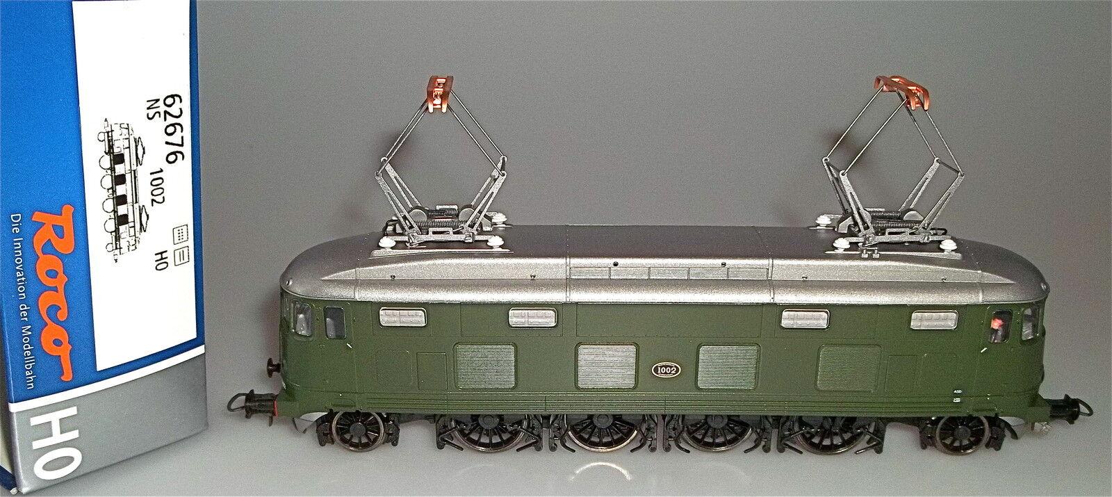 NS Série 1000 green Locomotive Électrique Epiii Roco 62676 H0 1 87