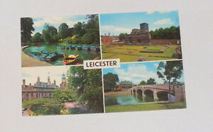 Leicestershire-Leicester-Multi-View-Picture-Postcard