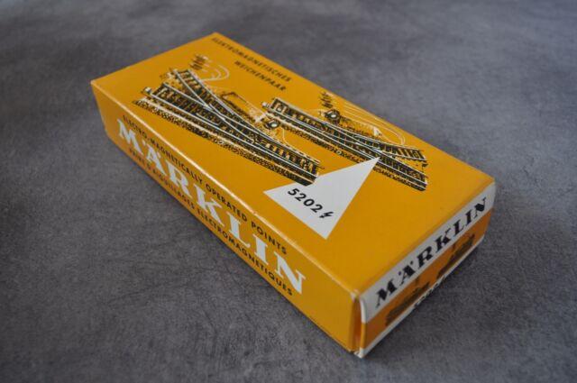 MARKLIN 5202 Accessoires TRAIN HO Rail aiguillage electromagnetiques points