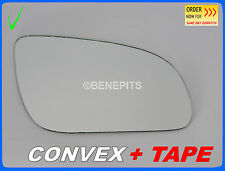 Wing Mirror Glass For AUDI A8 2003-2008 CONVEX TAPE Right Side BLUE #A020