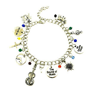 Image Is Loading Sound Of Music Movie Musical 10 Themed Charms