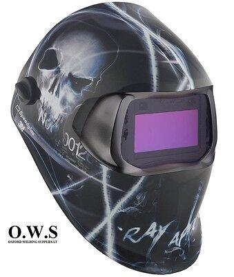 """3M Speedglas 100V Series Welding Helmet /""""Black/"""" Variable Shade 3 8-12"""