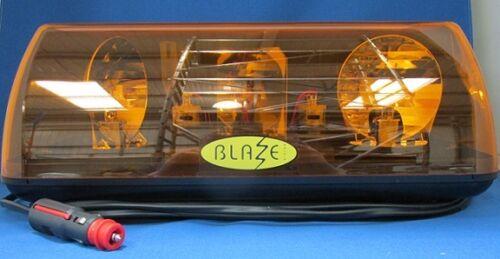 12V Rotating LIGHTBAR 701.001BAA MAGNETIC Vision Alert BLAZE 1 Minibar MAGNETIC