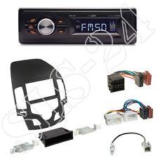 Caliber RMD022 (orange) Autoradio+Hyundai i30 (FD/FDH) Blende black+ISO Adapter