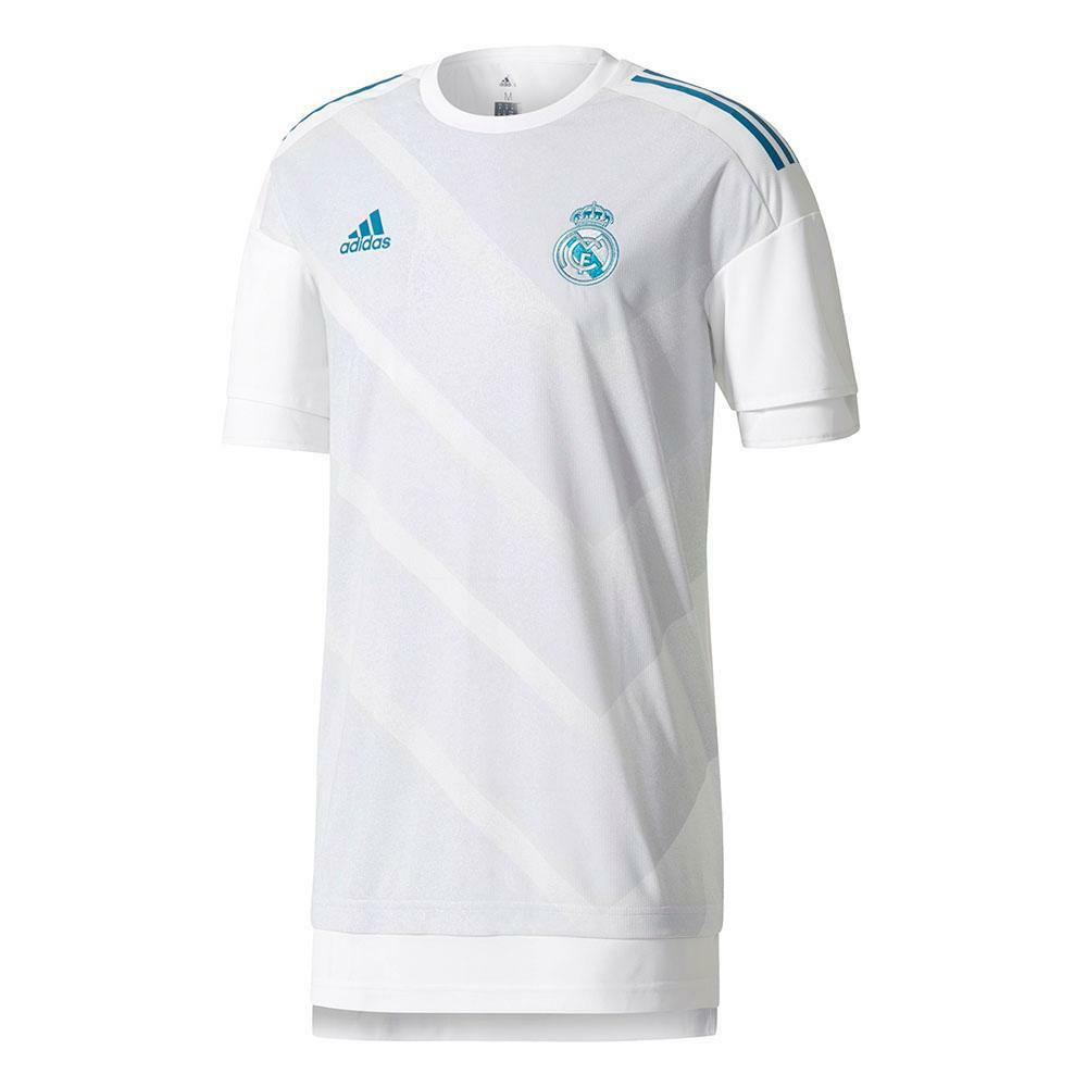 d80cfe864ca Adidas Adidas Adidas Real Madrid 2017 - 2018 Elite Training Soccer Jersey  White Kids - Youth bdfb9e