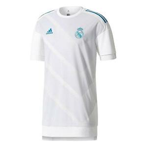 adidas Real Madrid 2017 - 2018 Elite Training Soccer Jersey White ... fae126adc