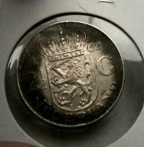 Netherlands-2-1-2-Gulden-1962