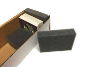 1 Box of 20 Max Pro Brand Foam Jam Spacer Monster Pads for Baseball Card Boxes