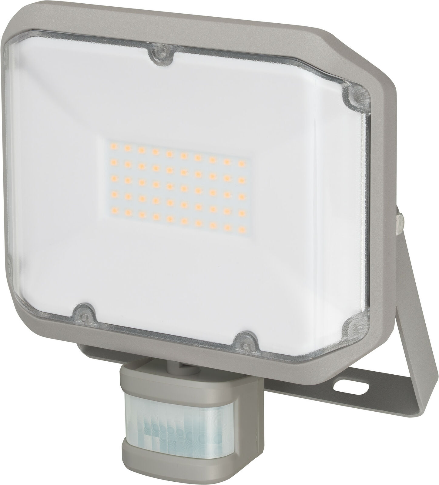 Brennenstuhl LED Strahler Alcinda 3000 P - 30 W, grau, mit Bewegungsmelder