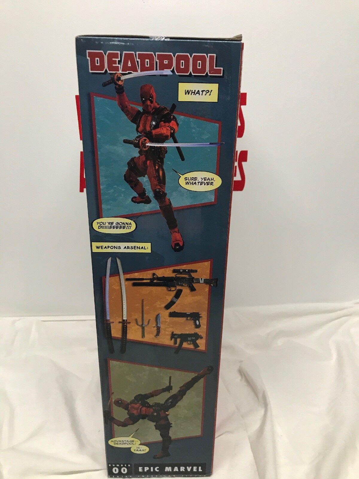 Marvel Marvel Marvel Comics  18-INCH (1/4 SCALE) DEADPOOL ACTION FIGURE  NECA REEL TOYS b6ca78