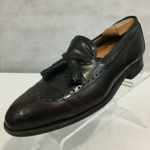 Aristocraft Nappa 1 Brogueing Johnson 8 2 Murphy Sz Wingtip nera Loafer ATO5Owq