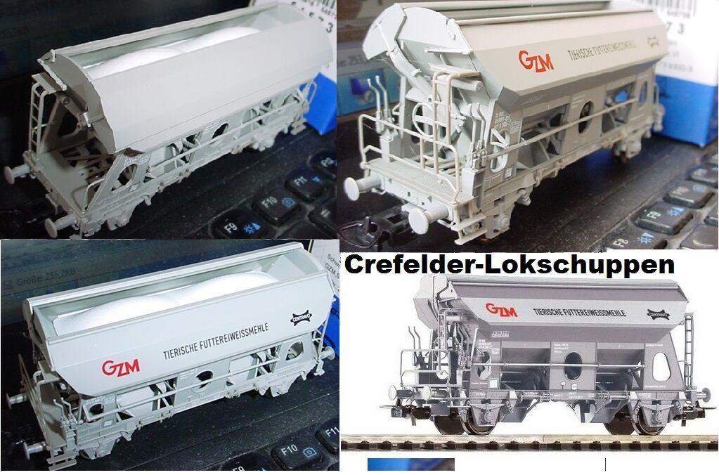 PIKO 54573 4 Self-Unloading Wagon SBB EP6 Optional Wheelsets for Märklin Free
