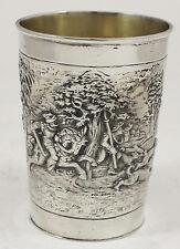 Massiver Becher in 800er Silber