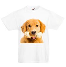 Labrador Fake Pocket Kid/'s T-Shirt Children Boys Girls Unisex Top Dog Puppy