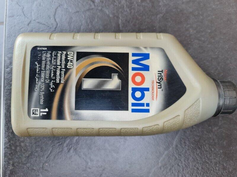 Mobil 1 0W40 Advanced Full Synthetic Motor Oil 1 Litre