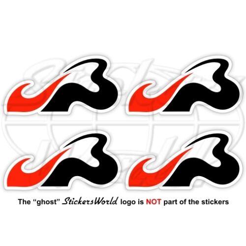 JULES BIANCHI JB Formula 1 F1 50mm (2) Stickers Adesivi in Vinile Per Auto x4
