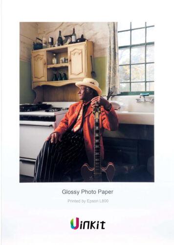 100 Sheets A4 High Glossy Photo Paper Inkjet Printer 180 260 Uinkit 230 //240