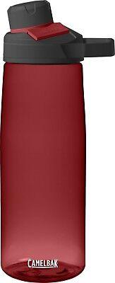 Camelbak Scivolo Mag 25oz (.75l) Bottiglia D'acqua, Idratazione Sport Pallone Cardinale Rosso-mostra Il Titolo Originale Asciugare Senza Stirare