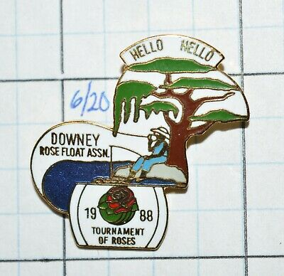 Details about  /101st Tournament of Roses Security Pacific Bank California Duck Egg Lapel Pin