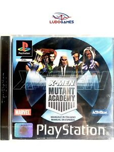 X-Men-Mutant-Academy-PAL-EUR-PSX-Retro-PS1-Nuevo-Sealed-Precintado-Brand-New