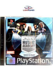 X-Men-Mutant-Academy-Pal-Eur-Psx-Retro-PS1-Neuf-Scelle-Scelle-Produit-Nouveau