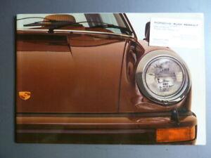 1977-Porsche-911-SC-amp-Turbo-DELUXE-Showroom-Sales-Brochure-RARE-Awesome-XLNT