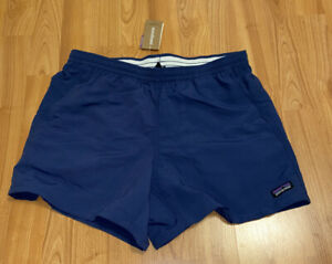 New-Womens-Patagonia-Baggies-Shorts-Size-XS-Stone-Blue-Navy