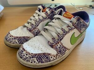 NIKE-sb-dunk-low-039-Day-Of-The-Dead-039-Size-10UK-Premium