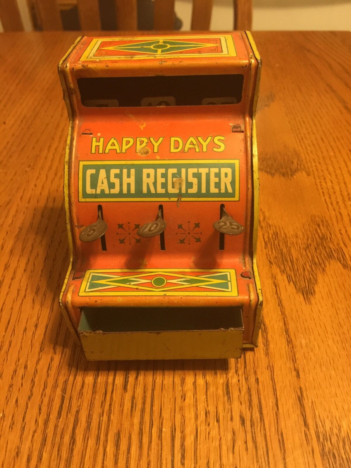 J. Chein & Co. Happy Happy Day's Cash Register With Drawer