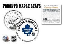TORONTO MAPLE LEAFS NHL Legal Tender Canada Quarter Coin