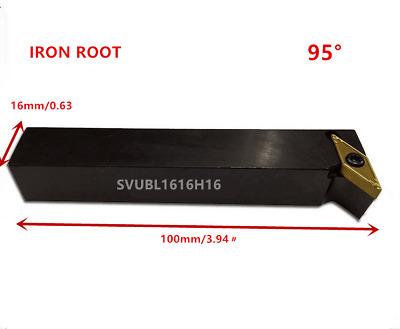 1p SVJBL1616H16 CNC Lathe Arbor Tool CuttingToolholder For VBMT1604 Insert