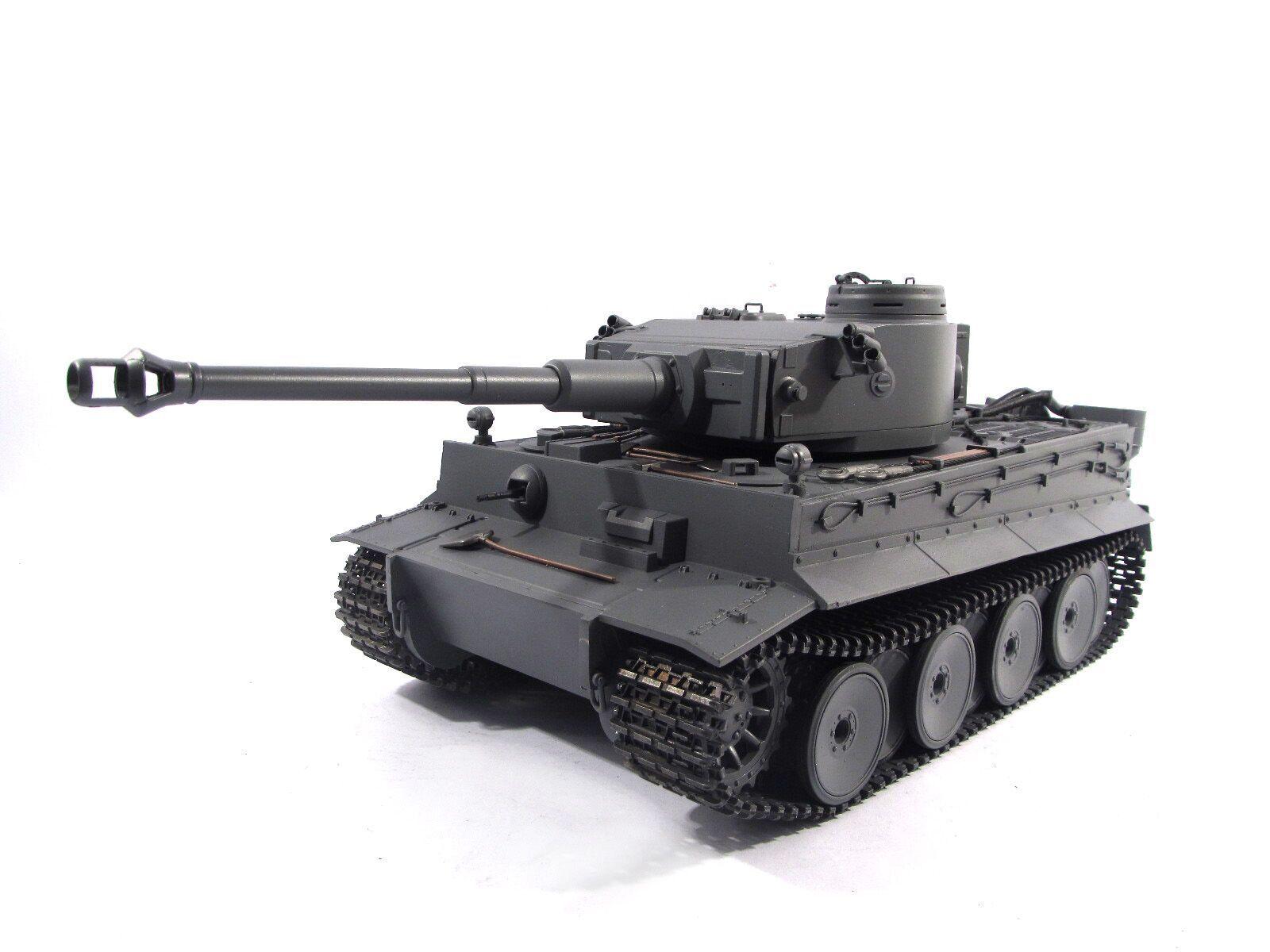 Completa de metal  Mato Tiger Tanque RC Infrarrojo RTR versión I Color Gris 1220
