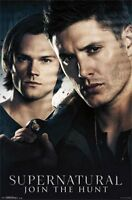 Supernatural Brothers  Join The Hunt  Poster Sam Dean Padalecki Ackles
