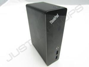 LENOVO-ThinkPad-USB-3-0-Dock-Docking-Station-replicatore-di-porte-DU9019D1-HW