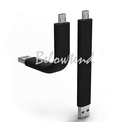 Hot Selling Flexible Bendable V8 Micro USB Data Charger Cable For Samsung S3/S4