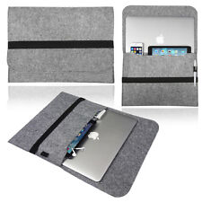 Smart Laptop Fieltro Manga Funda Bolsa Para Apple Macbook Pro Retina & Air