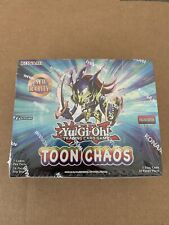 x6 Yugioh Toon Chaos Booster Pack Sealed NEW!