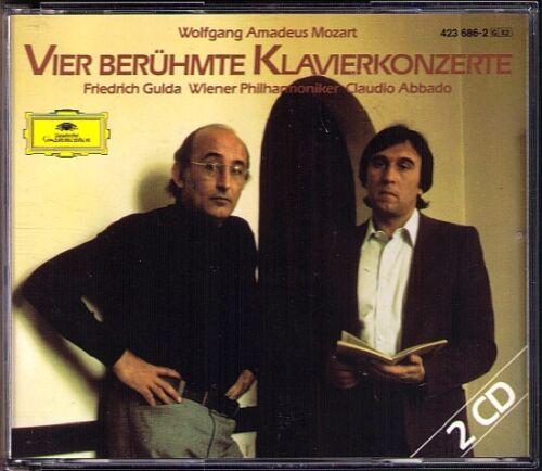 1 von 1 - Friedrich GULDA: MOZART Piano Concerto 20 21 25 27 ABBADO 2CD Klavierkonzerte DG