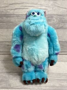 """Disney Store Stamped Monsters Inc Sully Plush 15"""" Large Plush Soft Toy Sulley"""