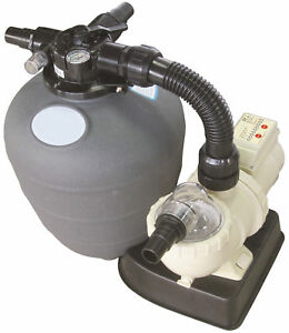 Image Is Loading Small Swimming Pool Filter Amp Pump Combo 0